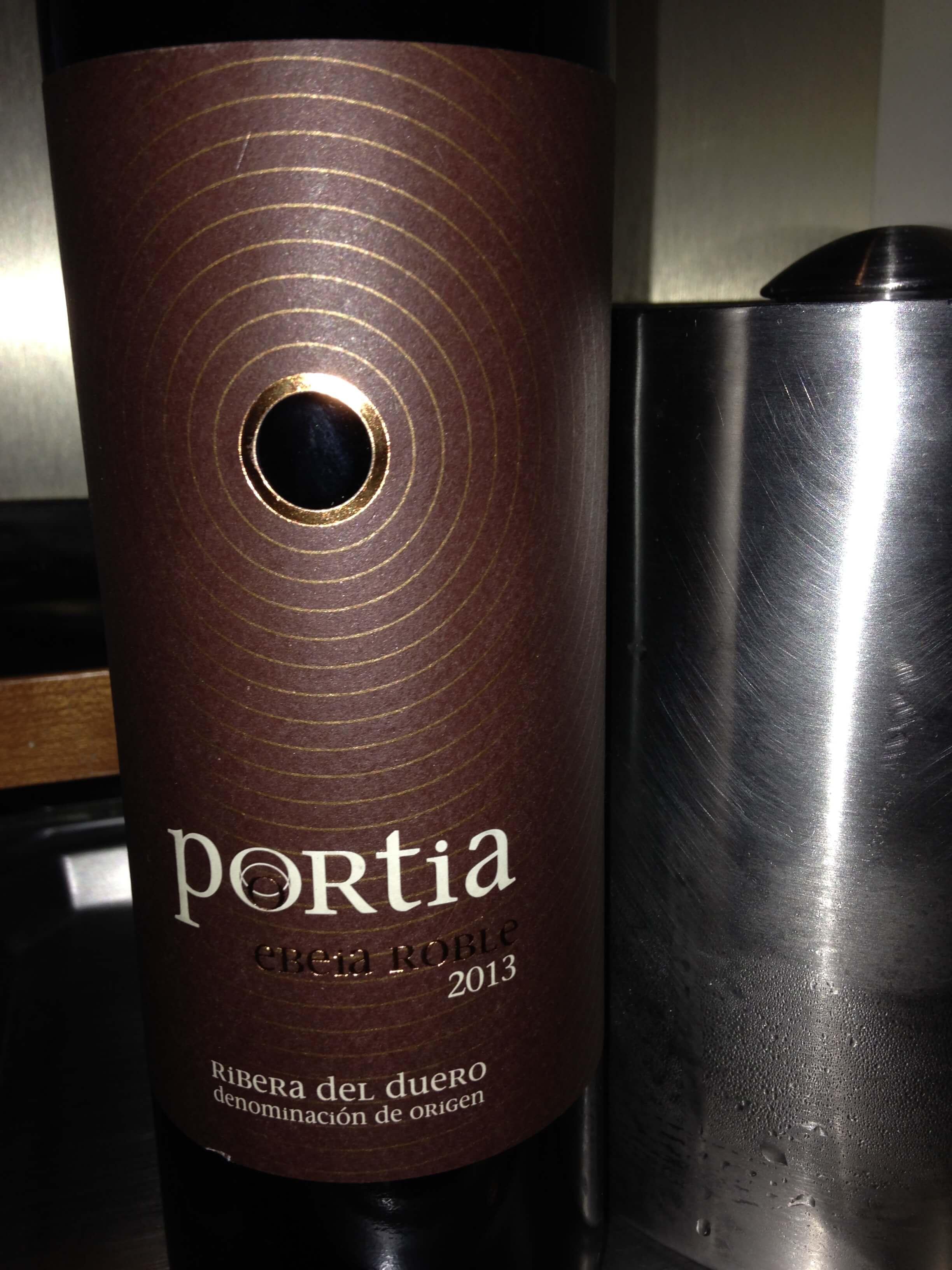 Portia_Ribera_del_Duero_vorne