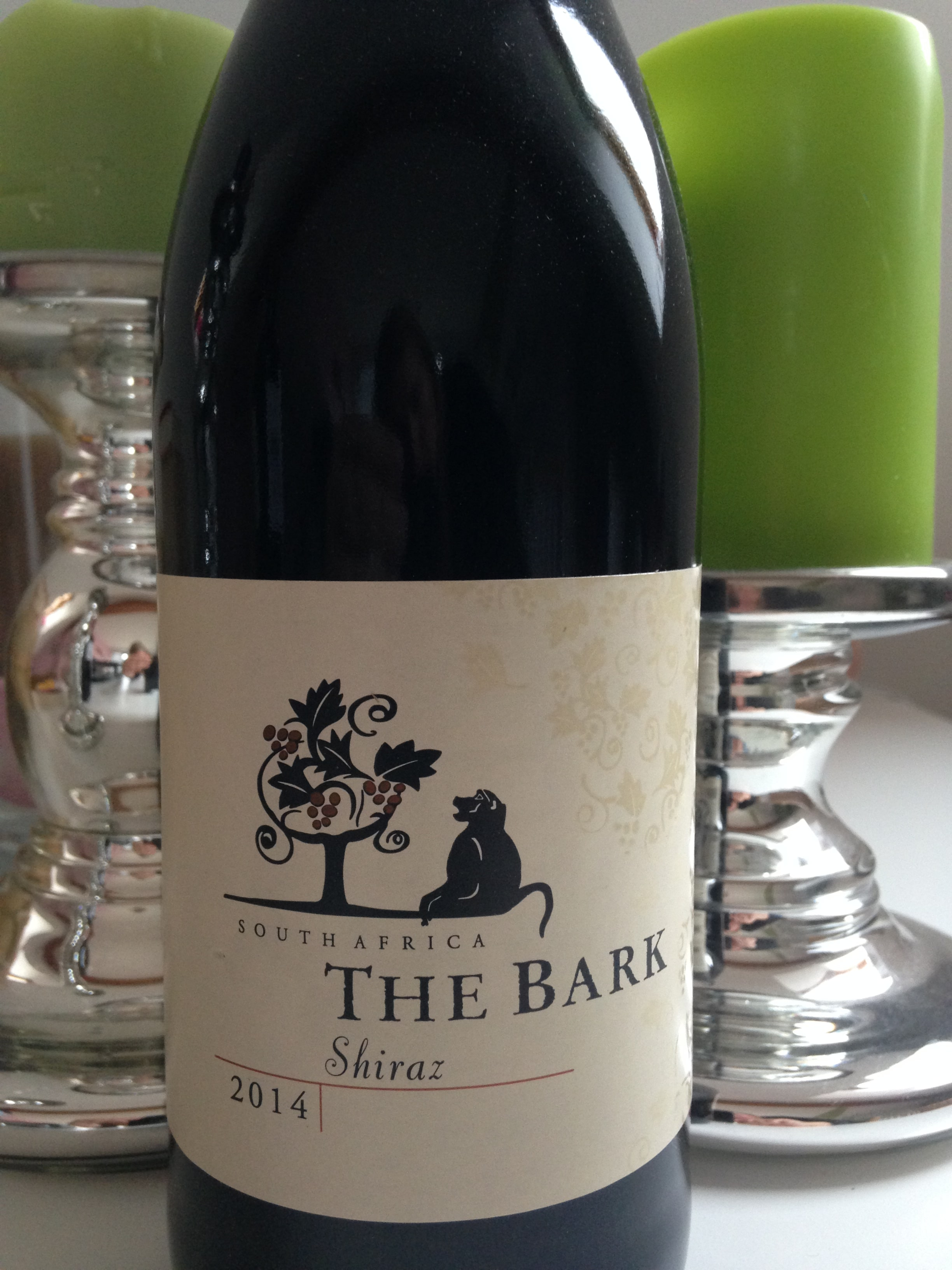 African Pride The Bark Shiraz 2014