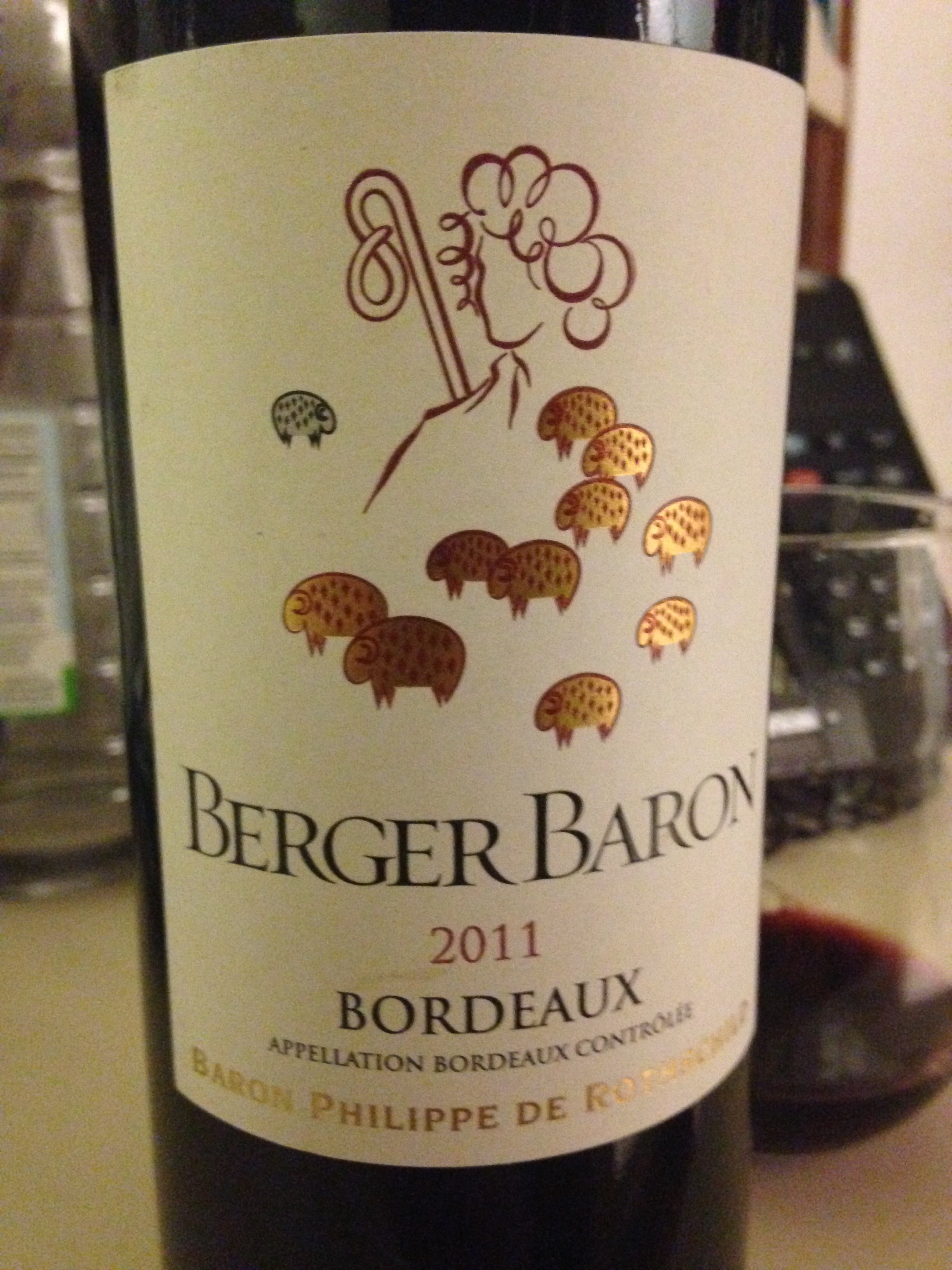 Berger Baron Bordeaux 2011