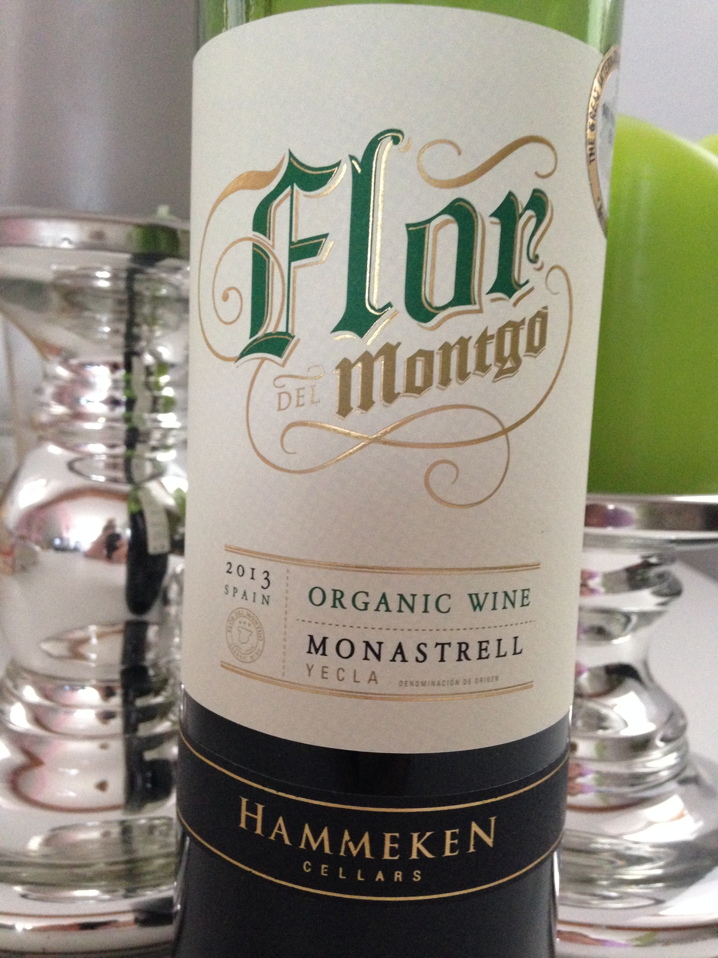 Flor Montgo Organic Wine Monastrell 2013