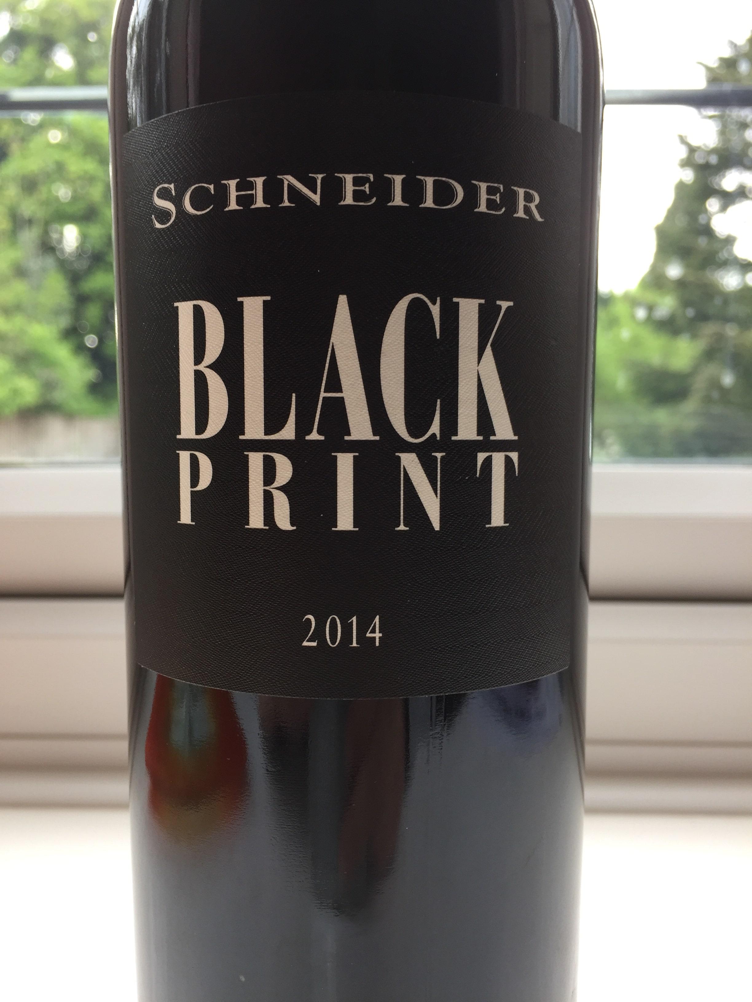 Schneider Black Print 2014