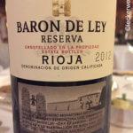 Baron de Ley Reserva 2012