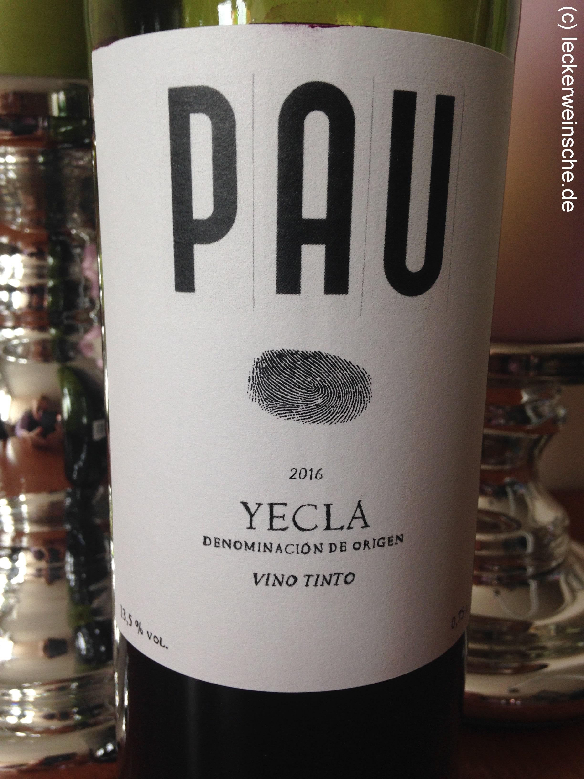 Pau Tinto Yecla