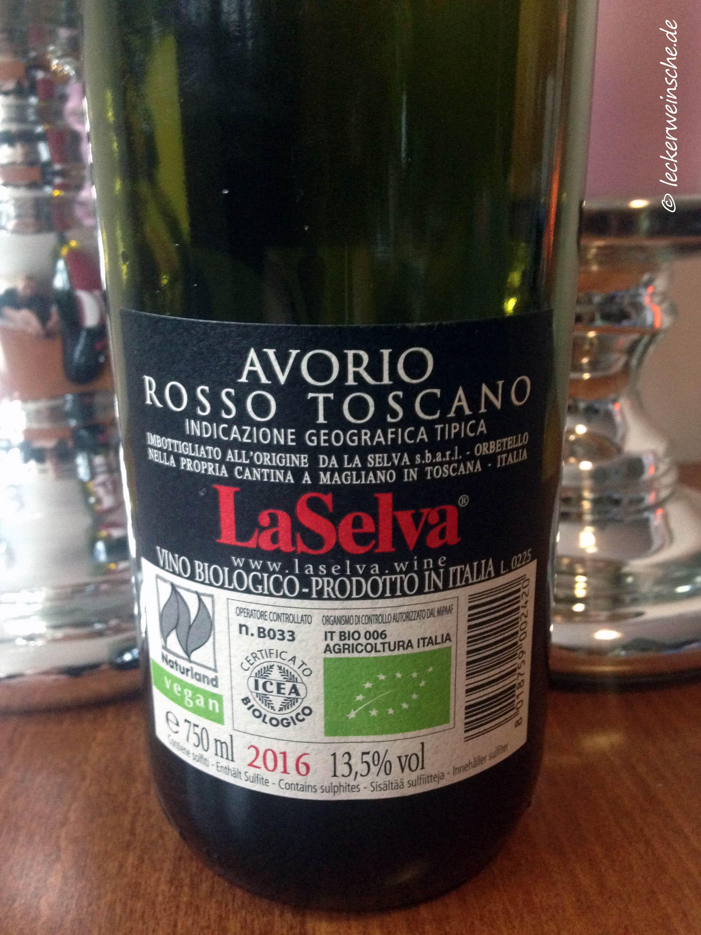 Avorio Rosso Toscano La Selva