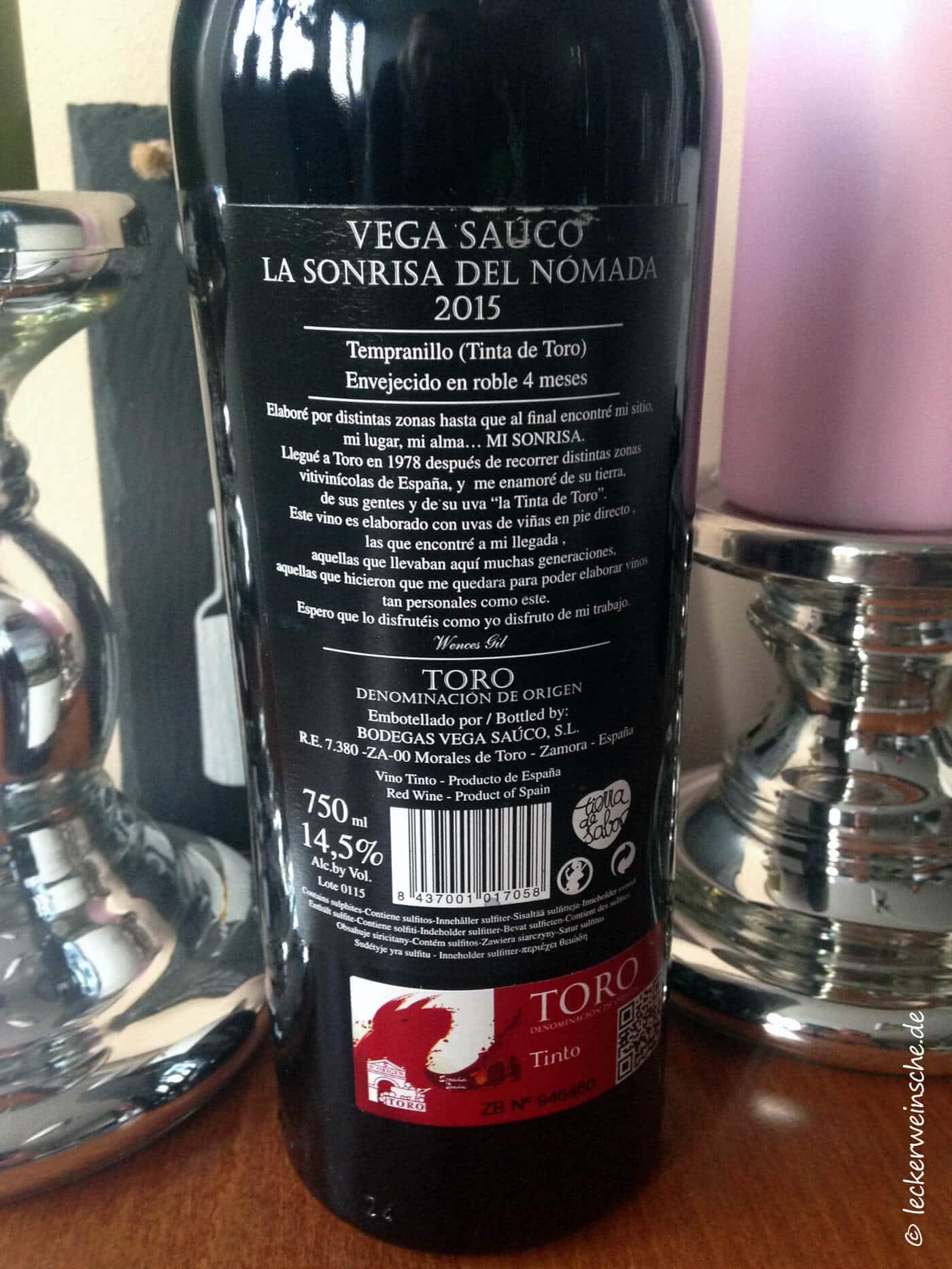la sondrisa rotwein leckerweinsche