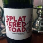splattered toad 2016 rotwein südafrika
