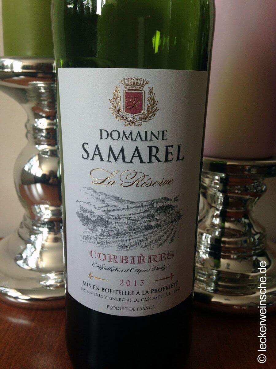 Domaine Samarel Wein