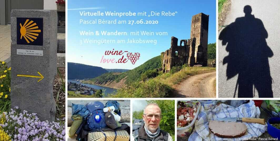 Wein & Wandern, Jakobsweg