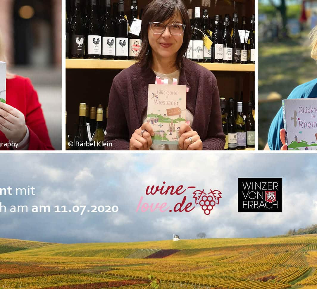 Buch & Wein, Winzer von Erbach, Weinevent