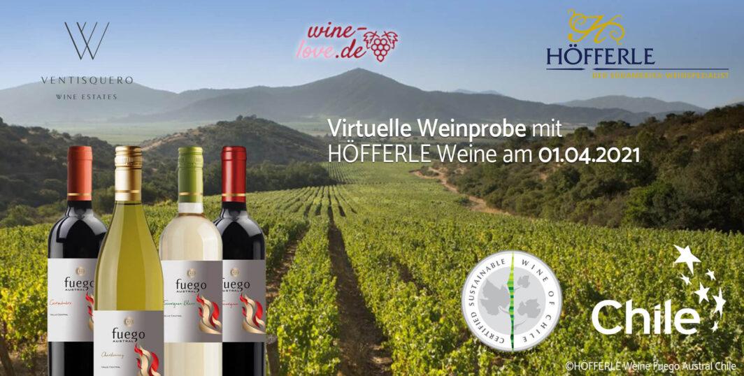 Virtuelle Weinprobe