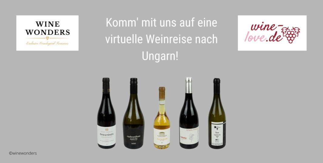 Virtuelle Weinprobe mit ungarischem Wein von WineWonders am 24.09.21 deutsch